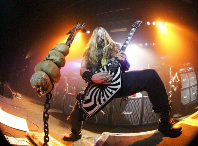 Black Label Society heavy metal zakk wylde guitar f wallpaper