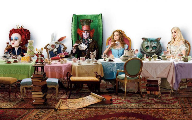 Alice in Wonderland movies wallpaper