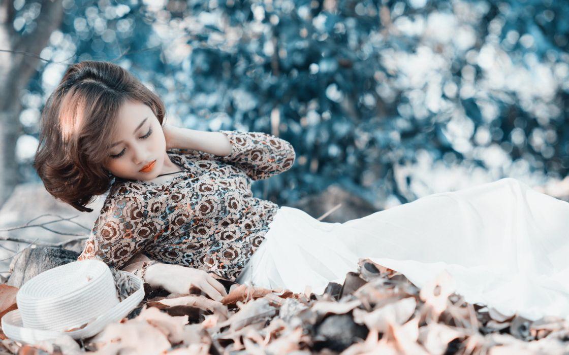 asian oriental women females girls babes models wallpaper