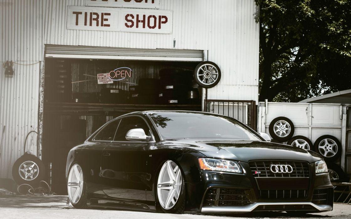 Audi  landing  auto  tuning  service wallpaper