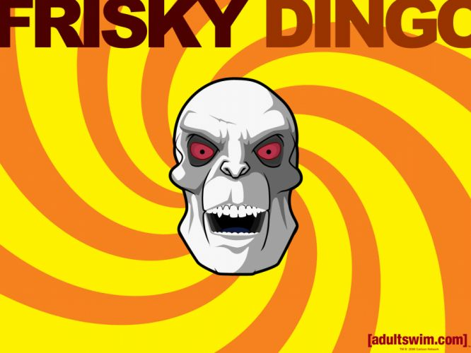 Frisky Dingo cartoon wallpaper