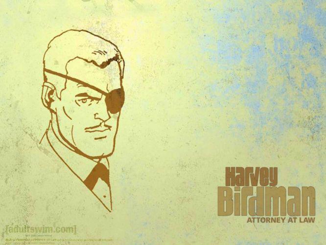 Harvey Birdman Attorney at Law cartoon f wallpaper
