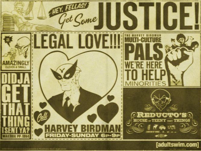 Harvey Birdman Attorney at Law cartoon t wallpaper