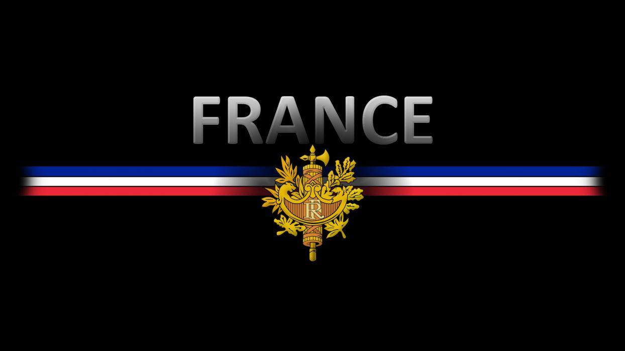 France crest flag wallpaper