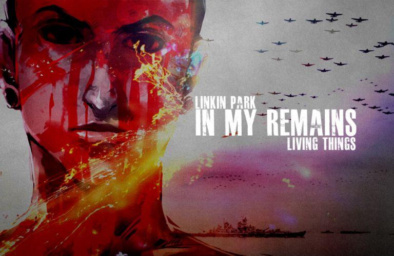 Linkin Park Face Drawing wallpaper