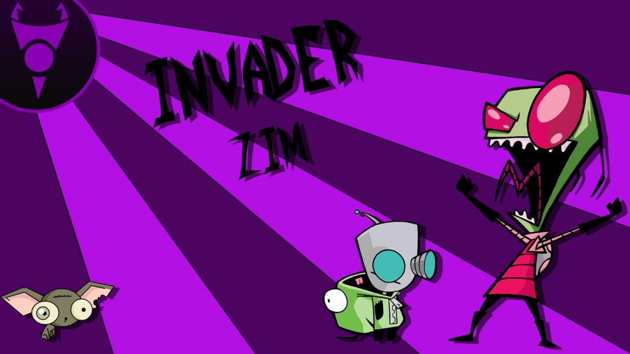 Invader Zim      e wallpaper