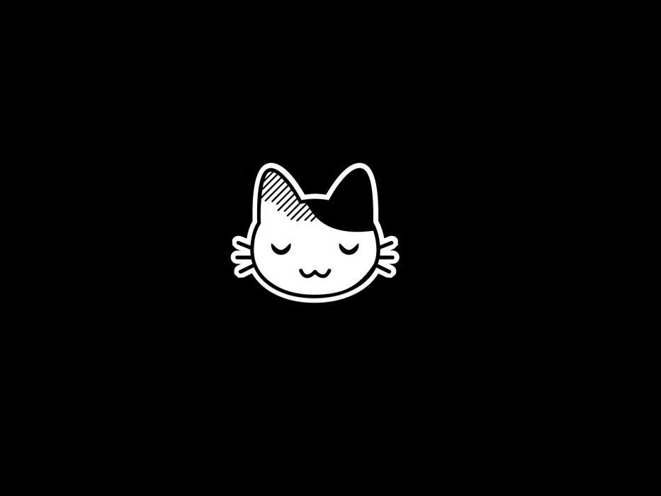 Pubg Wallpaper Hd Black And White: Kawaii Cats Cartoon Wallpaper