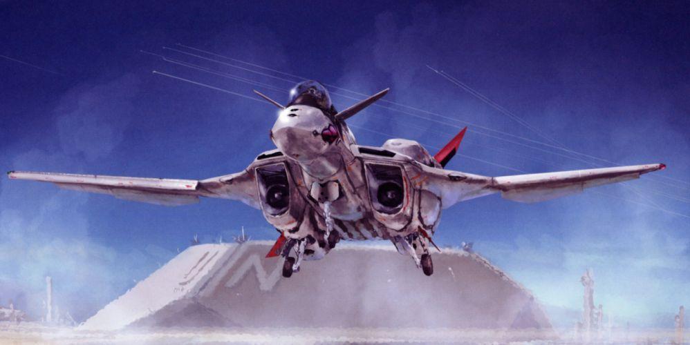 Macross Anime Mecha Jet aircraft m wallpaper