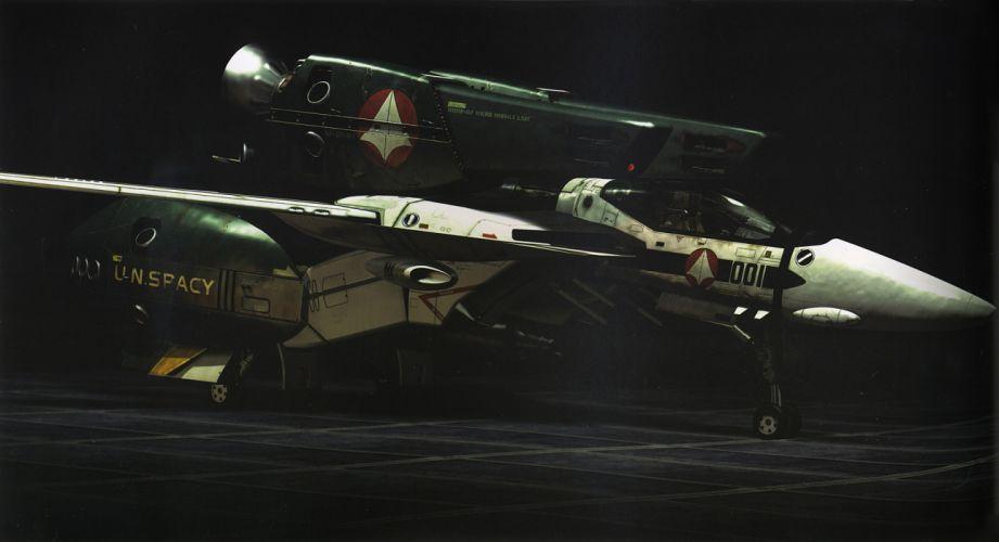 Macross Anime Mecha Jet aircraft r wallpaper