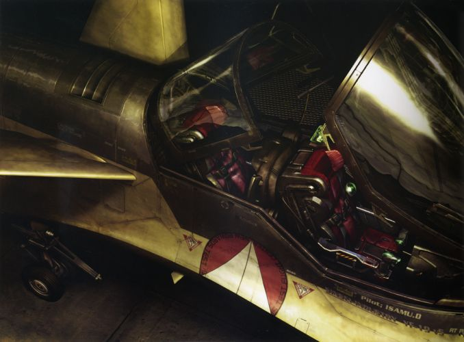 Macross Anime Mecha Jet Cockpit wallpaper