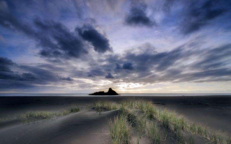 sea aeYaeY dunes landscape beaches ocean sky wallpaper