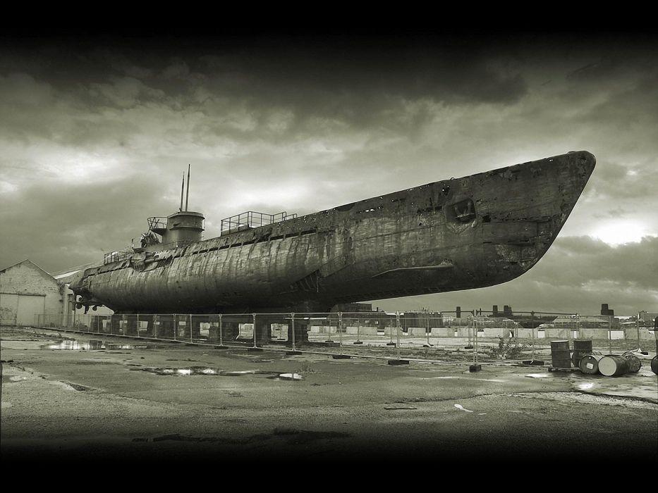 submarine monochrome uboat navy military ships wallpaper