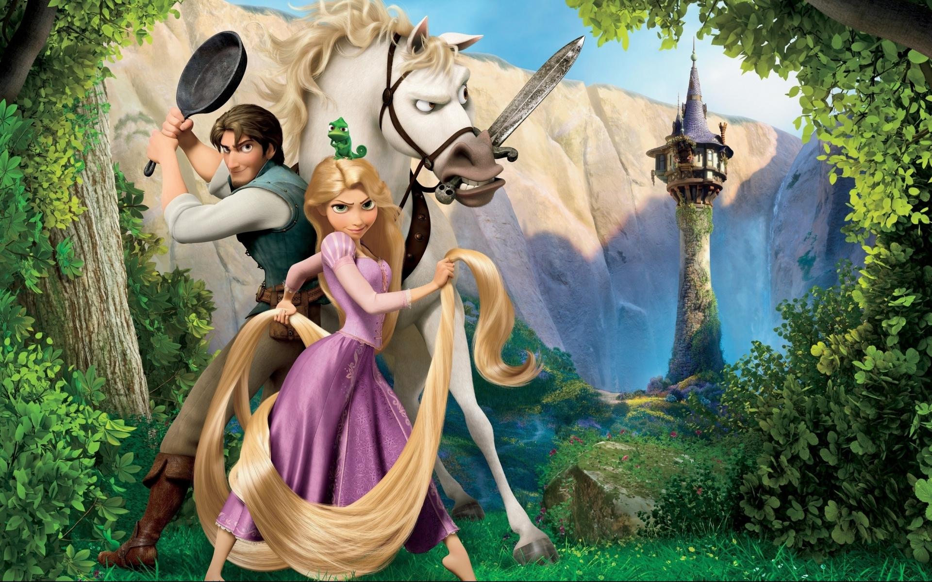 Tangled Cartoon Movies Disney Wallpaper