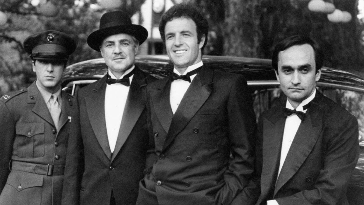 the godfather monochrome vito corleone marlon brando al pacino michael corleone james caan john caza men males actor mafia wallpaper