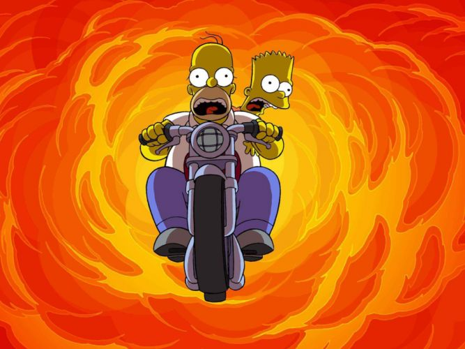 The Simpsons w wallpaper
