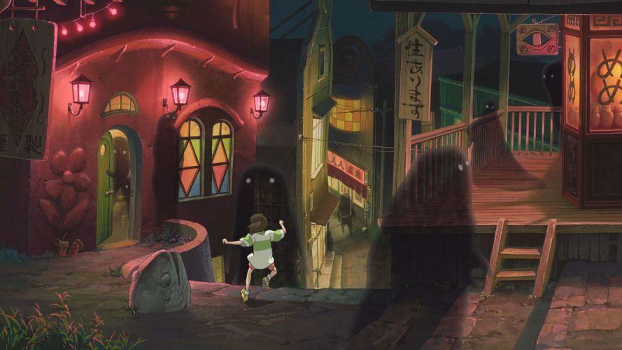 Spirited Away Anime Ghost wallpaper