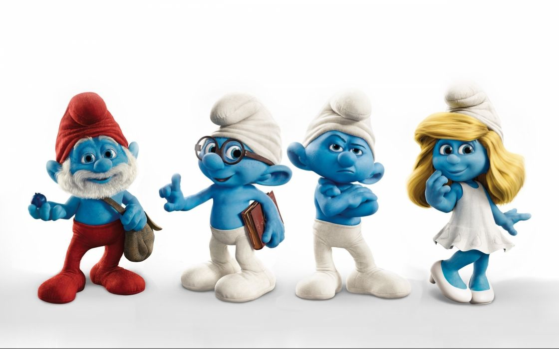 The Smurfs      r wallpaper