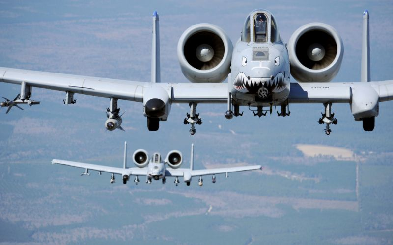 Airplane Plane A-10 sky military r wallpaper