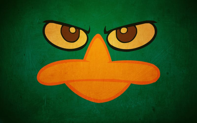 Angry Duck wallpaper