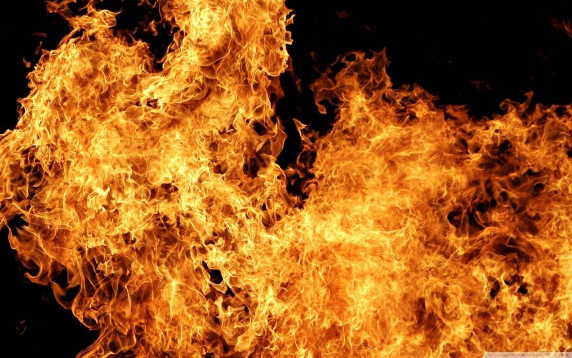 fire flames orange wallpaper