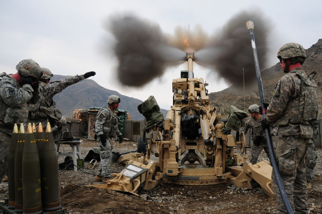 Cannon Stop Action Soldiers weapons military wallpaper