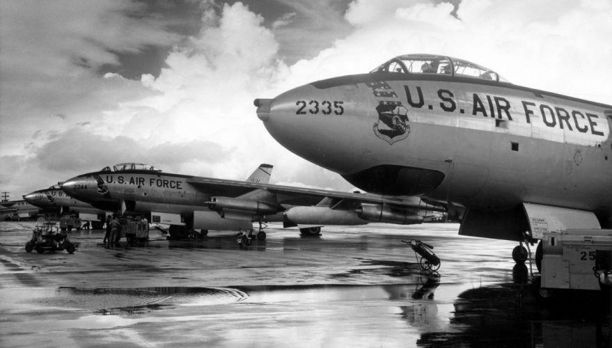 Jets BW Bombers B-47 military wallpaper