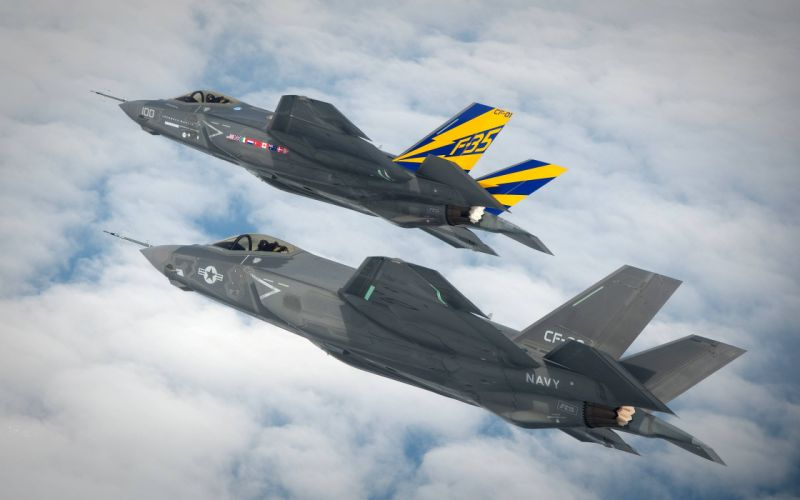 Jets F-35 military wallpaper