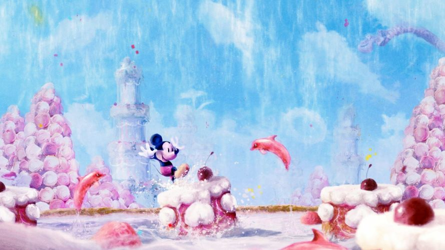 Mickey Mouse w wallpaper