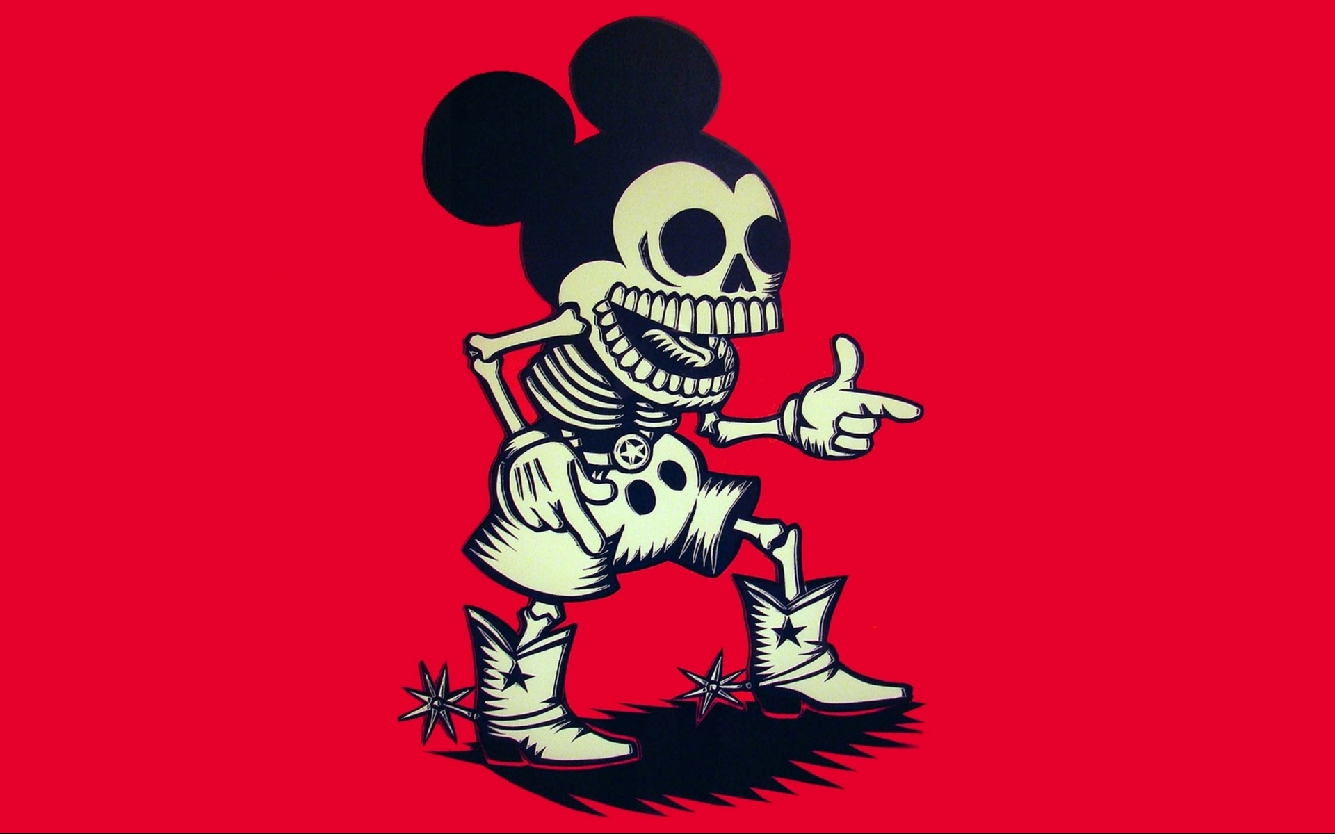 mickey mouse dark skulls wallpaper 1920x1200 46671