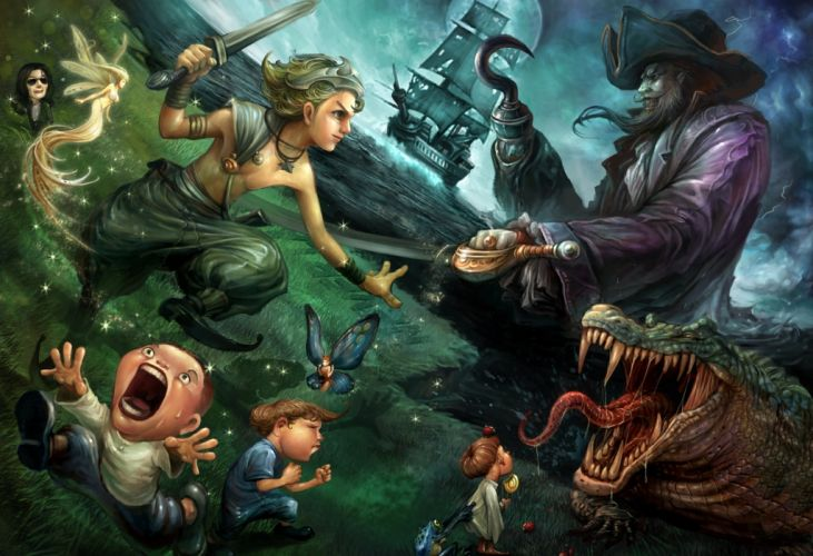 Peter Pan e wallpaper