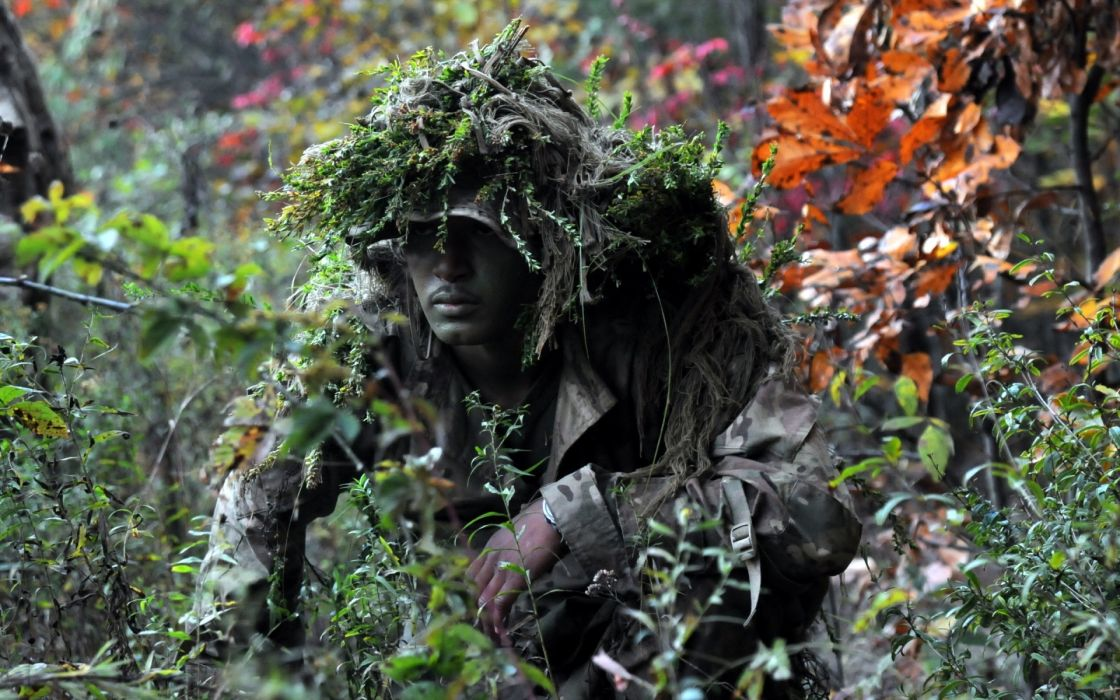 Soldier Camouflage military wallpaper