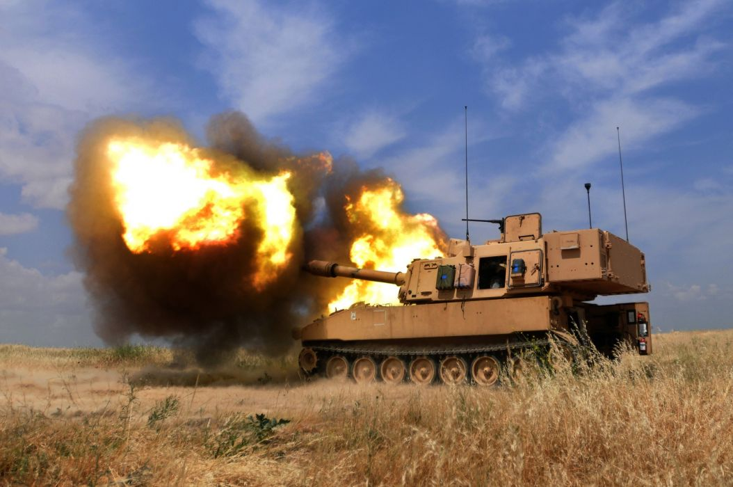 Tank Explosion Blast Flame Stop Action military wallpaper