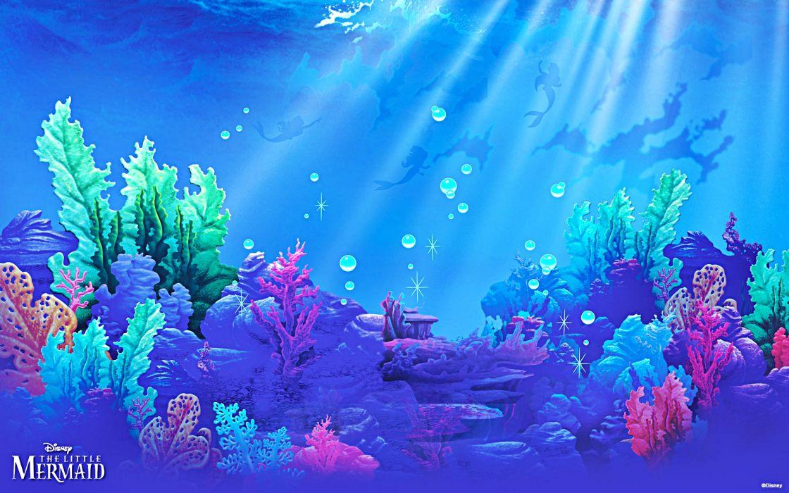The Little Mermaid           e wallpaper