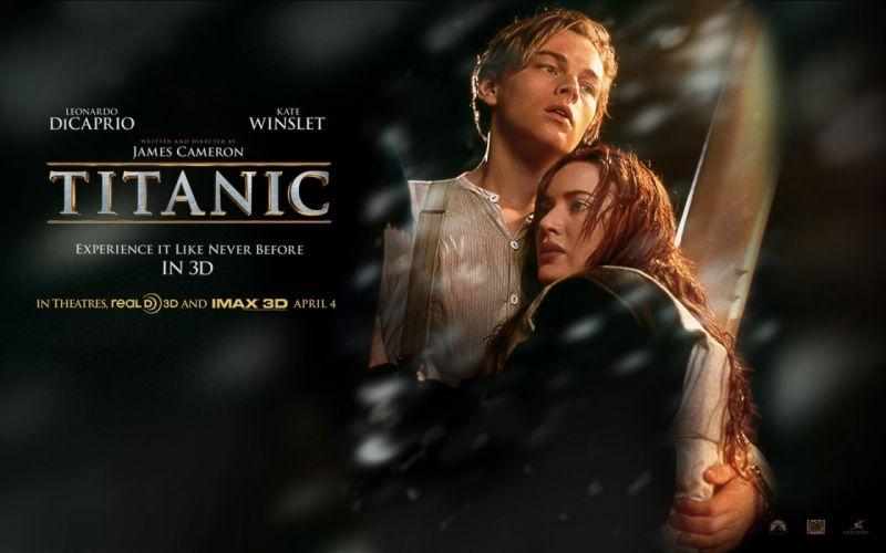 Titanic Leonardo DiCaprio movies wallpaper
