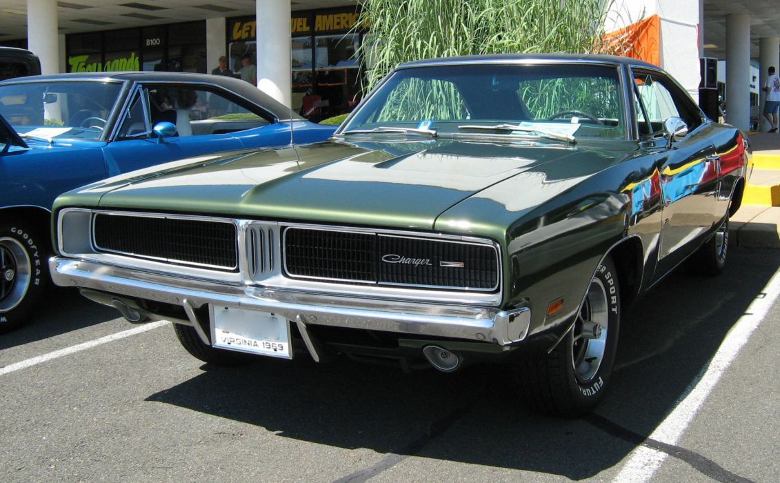 1969 Dodge Charger muscle cars classic wallpaper