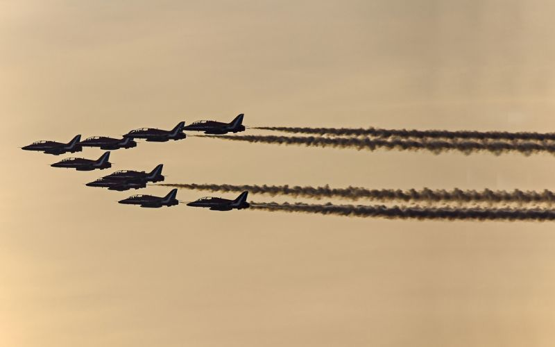 jets airplane military sky wallpaper