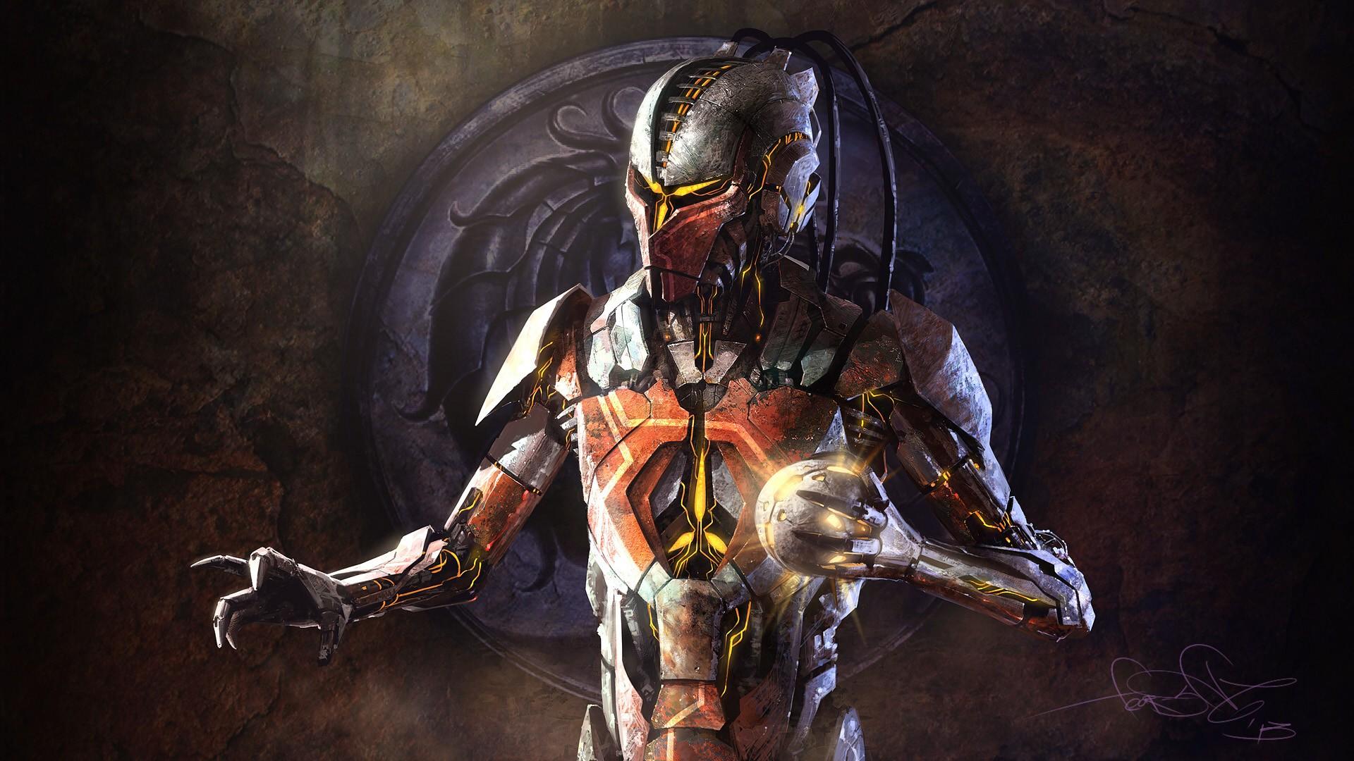Mortal Kombat Cyrax wa...