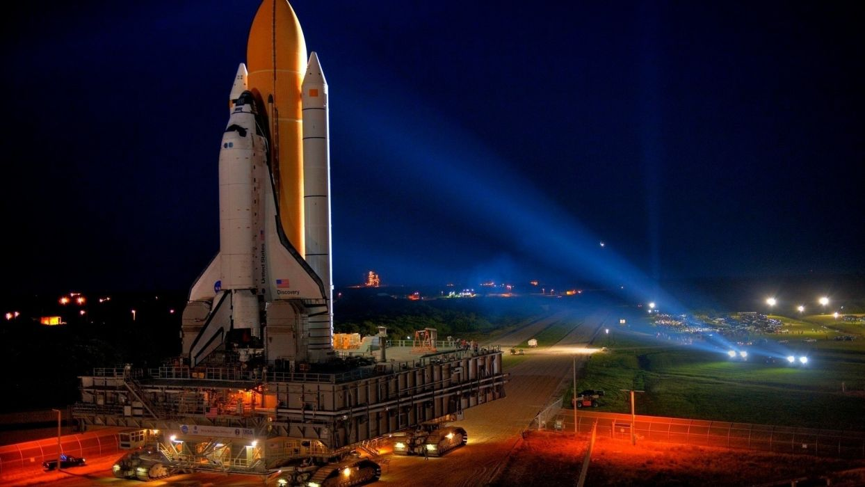 nasa launch pad space shuttle discovery wallpaper