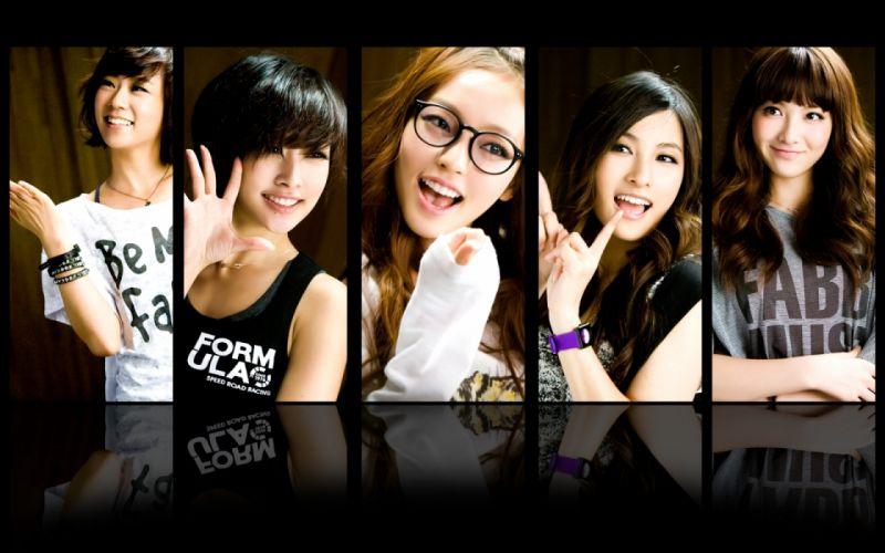 asians korean nicole jung kang jiyoung park gyuri han seungyeon goo hara kpop kara wallpaper