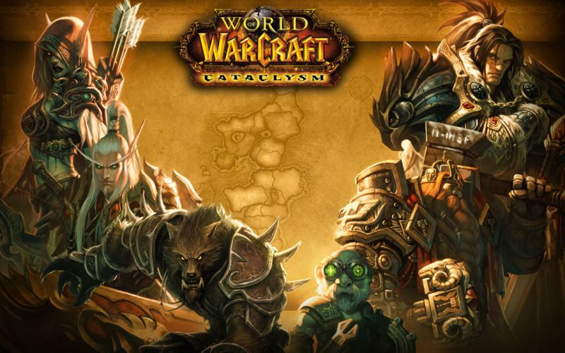 World of Warcraft fantasy wallpaper
