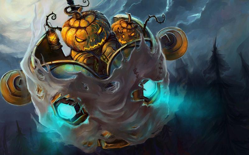 World of Warcraft fantasy halloween wallpaper