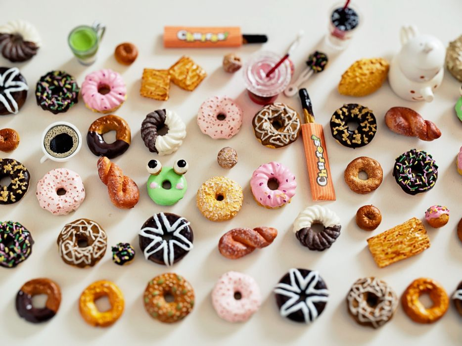doughnut candy wallpaper