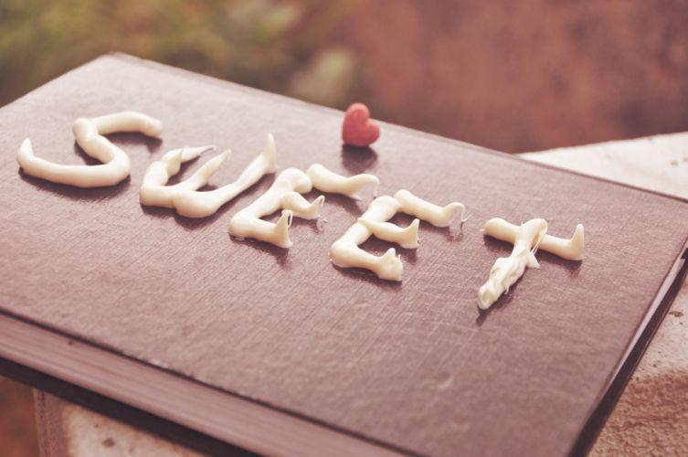 Sweet Warm Candy Chocolate wallpaper