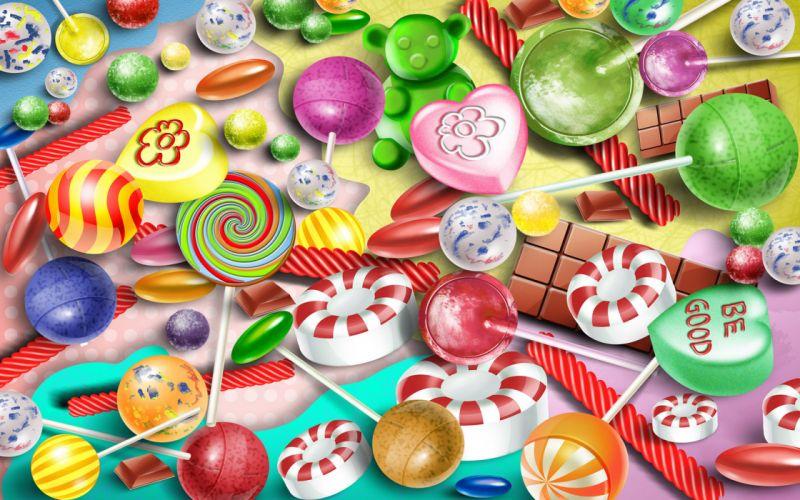 Candy w wallpaper