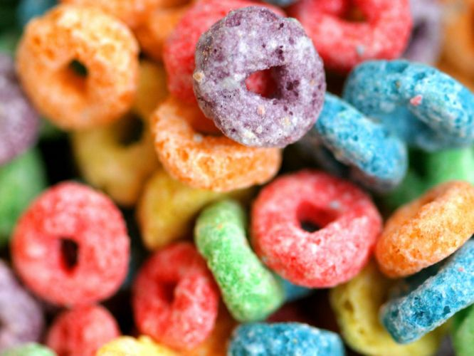 Candy cereal wallpaper