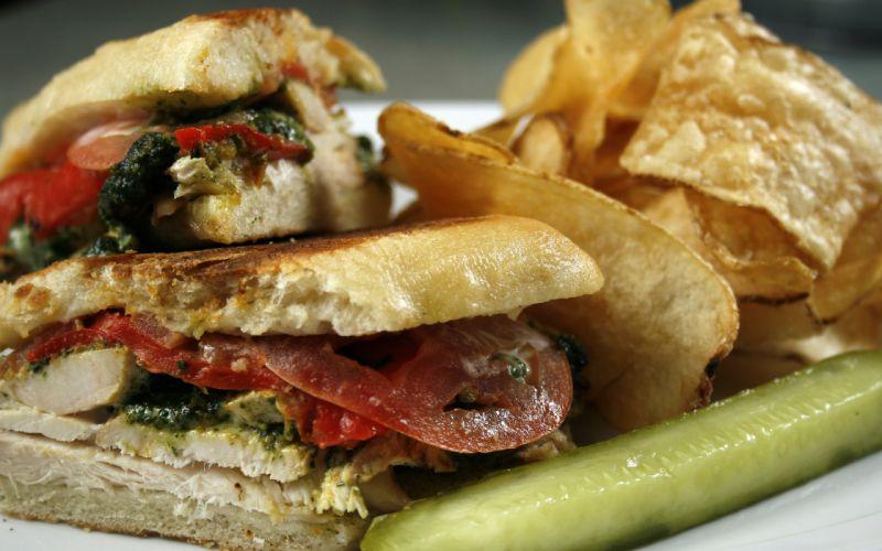 Sandwich Macro wallpaper