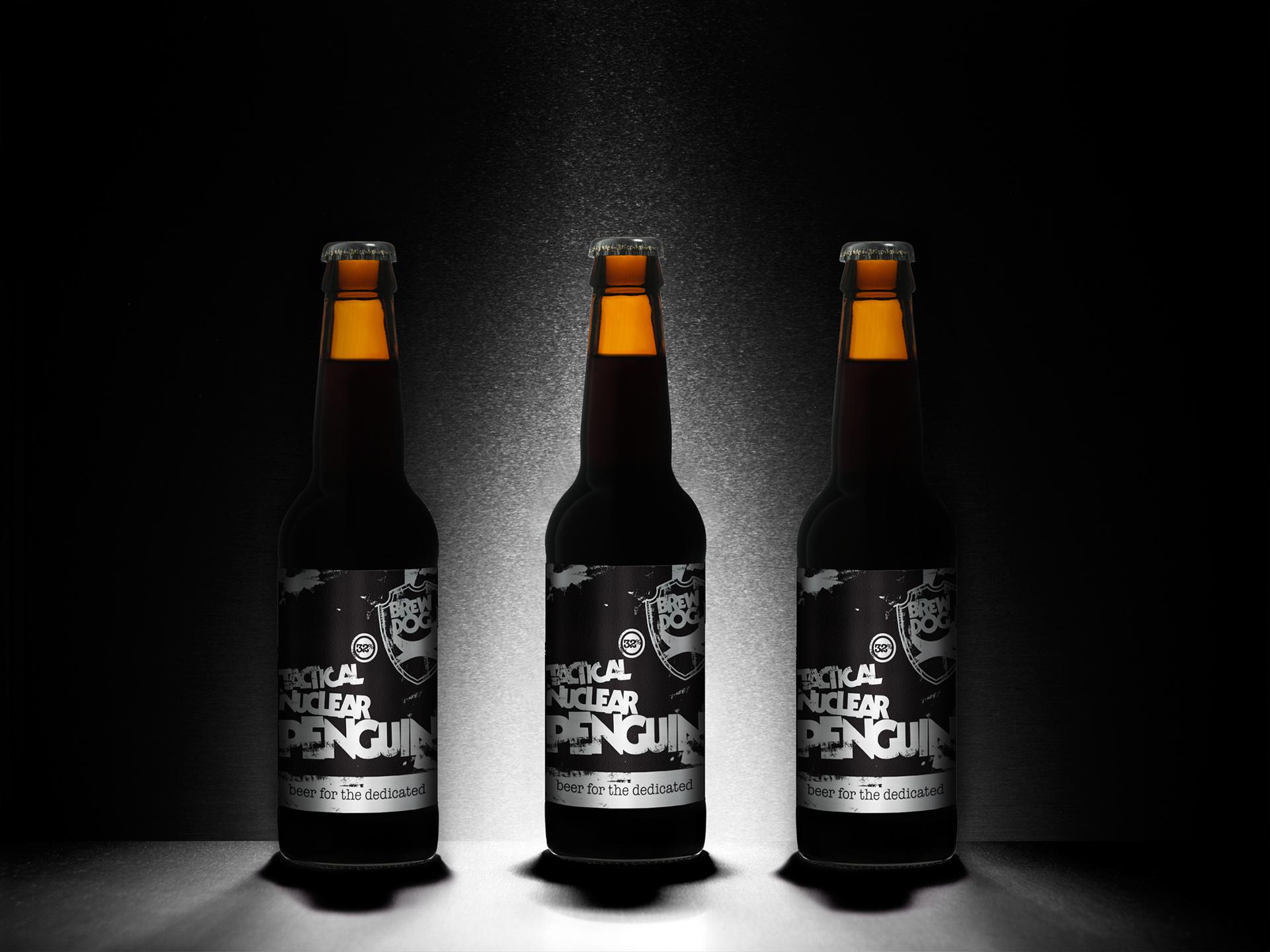 Tactical Nuclear Penguin Beer Bottles Alcohol Wallpaper