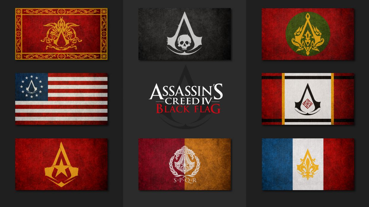 Assassin 039 S Creed Flag Wallpaper 1920x1080 47753 Wallpaperup