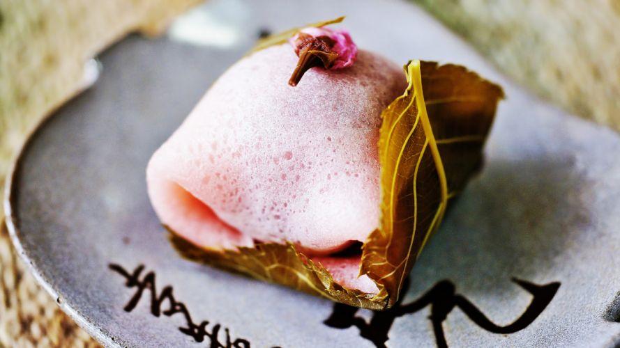 Mochi Dessert Macro wallpaper