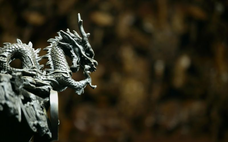 Dragon stone dragon fantasy asian wallpaper